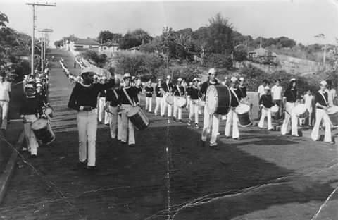 Fanfarra da Escola Padre Julio de Ras - 1968